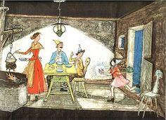 CARIGIET, Flurina und das Waldvögelein. Children Books, Basel, Boy Room, Switzerland, Rooms, Illustrations, Painting, Art, Vintage Advertisements