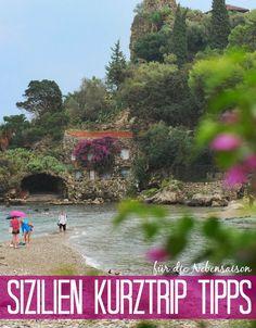 Sizilien ist immer eine Reise wert! Mit diesen Tipps für einen Sizilien Kurztrip in der Nebensaison wird Dein Urlaub unvergesslich!