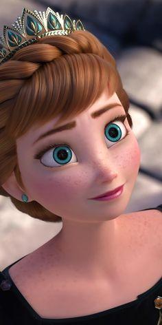 Anna Disney, Disney Rapunzel, Princesa Disney Frozen, All Disney Princesses, Disney Princess Frozen, Aurora Disney, Pocket Princesses, Disney Fairies, Disney Disney