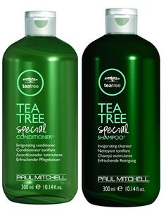 Paul Mitchell Tea Tree Oil Shampoo and Conditioner -Great for dandruff! -Leaves skin feeling so clean that it tingles.