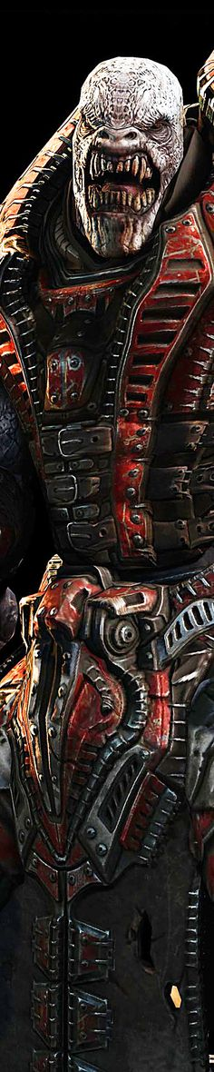 Gears Of War 3 - Theron Guard