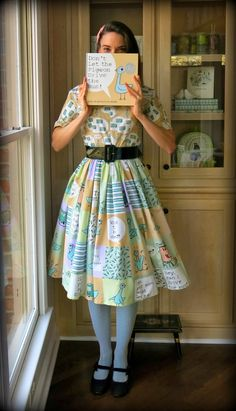 Cassie Stephens: DIY: Don't Let the Pigeon Drive the Bus! Dress