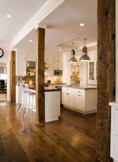 40+ Inspiring Modern Rustic Wood Kitchen Cabinet Ideasvhomez   vhomez