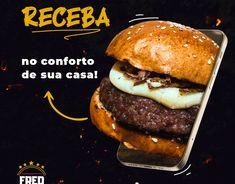 Burger Delivery, Bolo Panda, Graph Design, Diy Mugs, Social Media Design, Copycat Recipes, Food Design, Hamburger, Marketing
