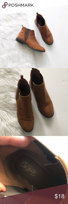 City streets | short booties Excellent condition ☺️ Feel free to make me an offer 💕 If you bundle the item(s) you like I can send you an offer with a discounted shipping so click that bundle button below ⤵️ I always ship the same day or very next day🤗 City Streets Shoes Ankle Boots & Booties