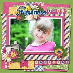Happiness Is.. - Bundle by Connie Prince - Scrapbook.com
