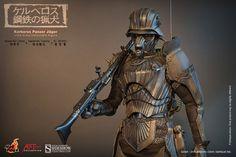 "Hot Toys Artist Collection Takayuki Takeya JIN-ROH Kerberos Panzer Jäger 1/6 Scale 12"" Figure"
