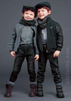 ALALOSHA: VOGUE ENFANTS: Dolce & Gabbana FW2015 boyswear