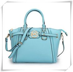 #Michael #Kors #handbags It Is Known That Michael Kors Pebbled Leather Large Blue Satchels Has Already Gained Great Reputation Recently!
