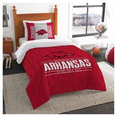 NCAA Northwest Modern Take Twin Comforter Set Arkansas Razorbacks - 64 x 86