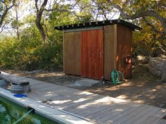 BIKE SHED Design Ideas, Pictures, Remodel, and Decor