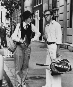 Annie Hall is one if Cynthia's favorite movies, she loves all Woodie Allen films but this one especially because it is a love story and it takes place in New York City..