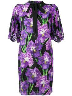 GUCCI Rhododendron Snake Jacquard Dress. #gucci #cloth #dress