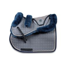 Mattes set, saddle square, sheepskin half pad, ears, and noseband cover £157.99 plus postage