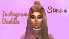 The Sims 4 | Create a Sim | Instagram Baddie - YouTube