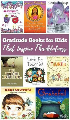 During Thanksgiving and the holidays is when most families approach the concept of gratitude, but it is important to share these simple lessons throughout the year. Reading Gratitude books for Kids with your children is an easy way to cultivate and encour Preschool Books, Book Activities, Kindergarten Books, Sequencing Activities, Kids Reading, Teaching Reading, Reading Books, Reading Lists, Reading Strategies