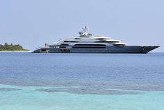 The 140m Ocean Victory has been recently spotted in Maldives