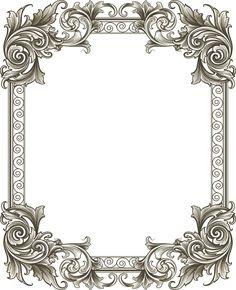 飾り枠 フリー アンティーク - Google 検索