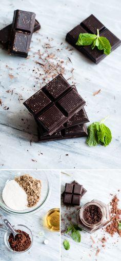 Homemade Chocolate Sugar Scrub | HelloNatural.co