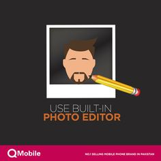 Did you know? #Android Kit Kat comes with a photo editor built-in directly in the photo gallery. So while looking at the photo you can edit it as well. #QMobile