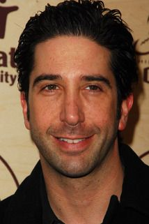 David Schwimmer, star of Friends. Monica Gellar, David Schwimmer, Laughter The Best Medicine, Matthew Perry, Joey Tribbiani, Phoebe Buffay, Rachel Green, Jennifer Aniston