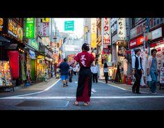 Shinjuku by burningmonk.