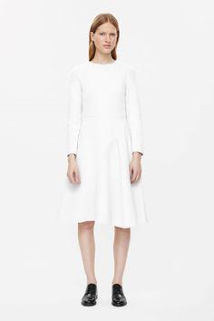 COS | Front drape dress