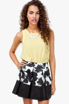 #A`Gaci                   #Skirt                    #MONOCRHOME #FLORAL #FLARE #SKIRT                   MONOCRHOME FLORAL FLARE SKIRT                                                 http://www.seapai.com/product.aspx?PID=1862938