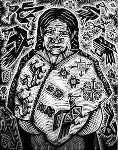 NeoMexicanismos - loteriart: Lotería Huasteca by Alec Dempster . Linocut Prints, Art Prints, Latino Artists, Lino Art, Scratchboard Art, Chicano Art, Paintings I Love, Stencil Art, Mexican Art