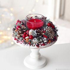 Christmas Crafts To Sell Bazaars, Christmas Crafts To Sell Make Money, Handmade Christmas Gifts, Xmas Crafts, Silver Christmas Decorations, Christmas Candles, Christmas Centerpieces, Christmas Mood, Noel Christmas