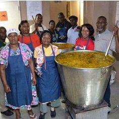Soup Joumou now thats a pot full