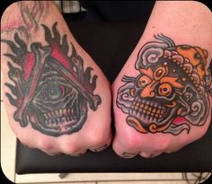 My hand tattoos