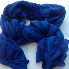 Crinkle Scarf Wrap Long crinkle scarf wrap. Soft shawl. Color blue. New! Boutique Accessories Scarves & Wraps