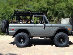 My dream car is a 1969 Ford Bronco.