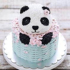 15 Panda Cake Ideas That Are Absolutely Beautiful