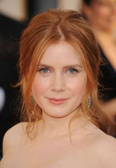 Celebrity red hair: Amy Adams with red hair