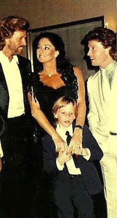 Barry with his wife Linda, son Ash and little brother Andy.