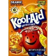 Kool-Aid Henna Tattoo  Materials needed: 1) 1 pack of orange Kool Aid 2) one drop of green food coloring 3) 1 cup of water 4) Jar/bowl   How to: 1) Mix it all together! Paint it on your hand and let it sit for 1 minute!    VOILA! :) It should last over a week!