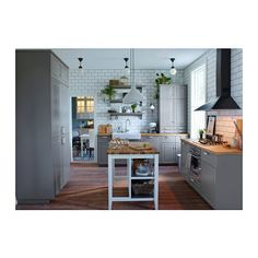 STENSTORP Island IKEA kitchen island for independent work for your kitchen easy to place where you need them.