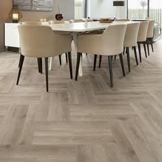 A huge range of carpets and flooring solutions with great prices online.UK & make sure you get the floor or carpet of your choice. Parquet Chevrons, Imitation Parquet, Dining Chairs, Dining Table, Carpets Online, Entrance Ways, Carpet Installation, Pvc, Herringbone