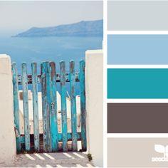 Design seeds mental vacation color board