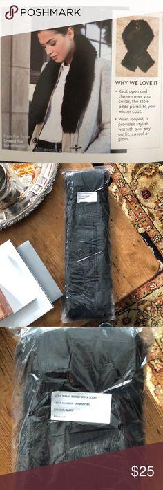 Faux Fur Stole Brand new faux fur stole by Unreal Fur. Unreal Fur Accessories Scarves & Wraps