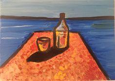 Sea Breeze. Oil on paper  #contemporaryart #art #artgallery #sea
