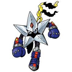 Starmon - Champion level Mutant digimon