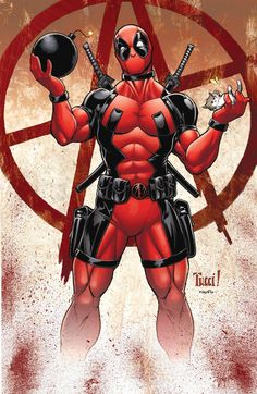 #Deadpool #Fan #Art. (Deadpool) By: Wesflo. ÅWESOMENESS!!!™ ÅÅÅ+