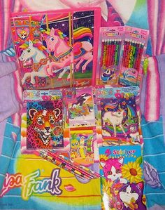 remember when ALL your school supplies was Lisa Frank....