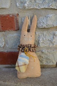 Chet the bunny by Artbyme on Etsy, $13.00