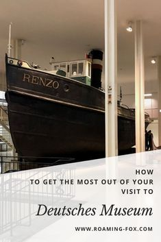 How to get the most out of your visit to Deutsches Museum — Roaming Fox Time In Germany, Munich Germany, Museum Tickets, Travel Goals, Travel Tips, Budget Travel, German Christmas Markets, Aircraft Design, Buy Tickets