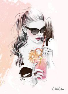 'Pink Lemonade' by ©Cristina Alonso (www.cristinalonso.com)