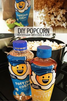 It's National Popcorn Day and we're celebrating with popcorn, of course!  We're sharing these 2 DIY ways to pop delicious popcorn at home using items you already have in your kitchen.  These are delicious, easy and inexpensive ways to snack of your favorite, yummy treat for your next family movie night. The kids will also love waiting to hear the first kernel pop!  via @kernelseasons